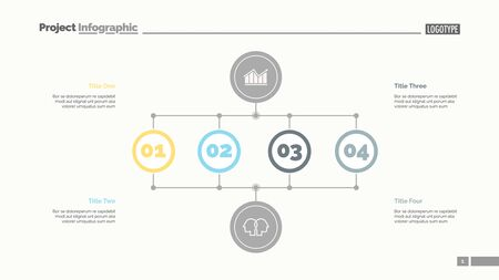 Business stages slide template. Business data. Graph, diagram, design. Creative concept for infographic, report. Can be used for topics like analysis, research, business fields