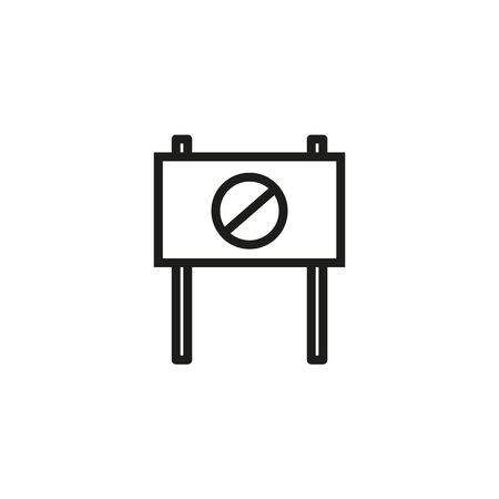Freedom demonstration line icon. Outcry, poster, rebellion. Protesting people concept. Vector illustration can be used for topics like protest, human rights, meeting 向量圖像