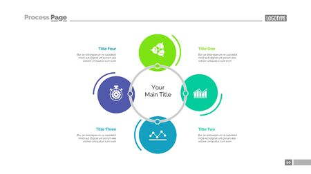 Choosing strategy slide template. Business data. Graph, diagram, design. Creative concept for infographic, project. Can be used for topics like development, marketing, seo
