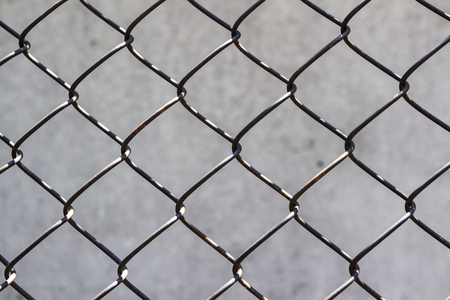 The texture of the wire fence. Can be used as a background.