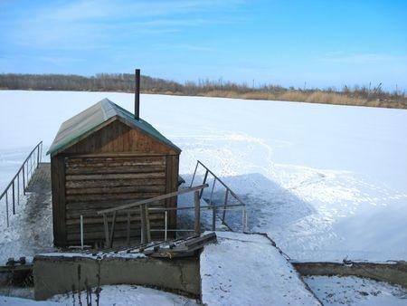 badhuis: Russische bad huis