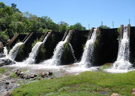 Little dam in Villa Serrana, Uruguay Stock Photo - 6357088