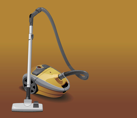 cleaning up: vacuum cleaner