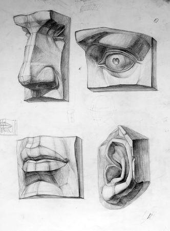 Parts of face Zdjęcie Seryjne - 3206191