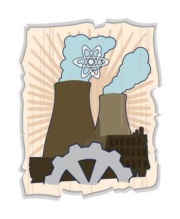 atomic energy Stock Vector - 3378375