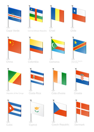 cuban flag: Flag icon set (part 3)