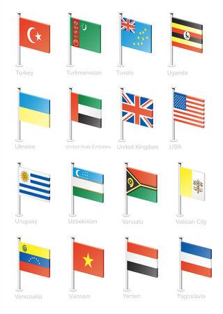 venezuelan: Establecer un icono con una bandera (parte 12)