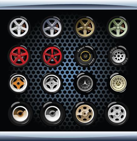 aluminum wheels: wheels