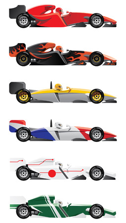 car side view: formula 1