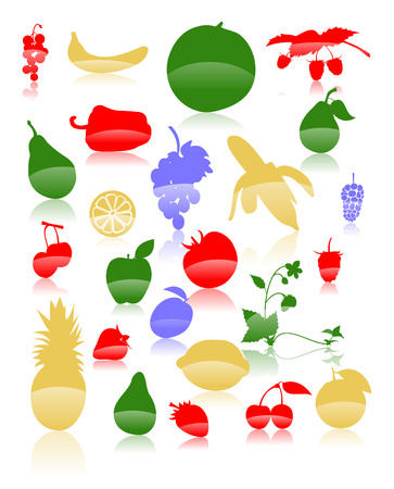 illustration of a fruit.  Stock Vector - 6141683