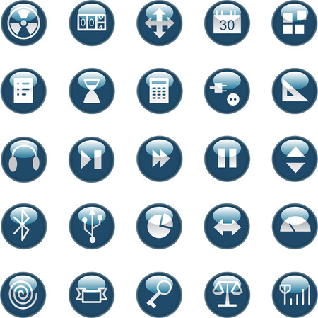 perilous: A set of common used web button (part 4)