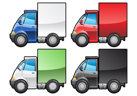 small truck. Stock Vector - 6772361