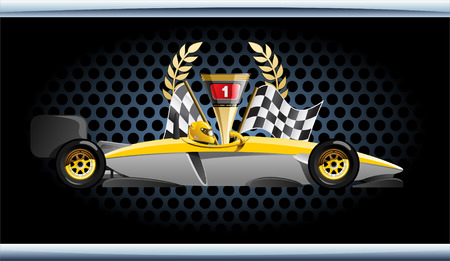 racing car. Stock Vector - 6772364