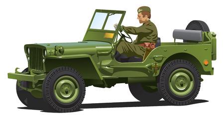 Armée de guerre mondiale deux.  Banque d'images - 7037089
