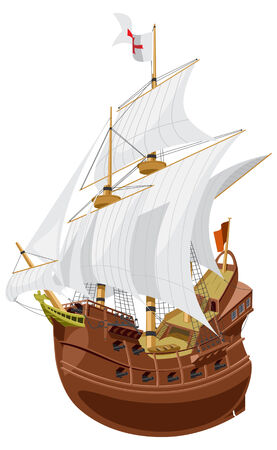 sailing vessel: galleon