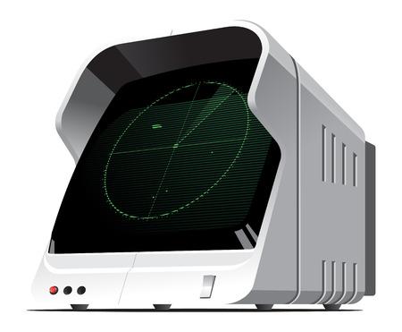 Sonar Stock Vector - 7131055