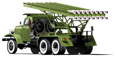 color illustration of Katyusha Stock Vector - 7445328