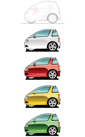 Ultra light vehicle Stock Vector - 7625719
