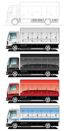 truck. Stock Vector - 7625731