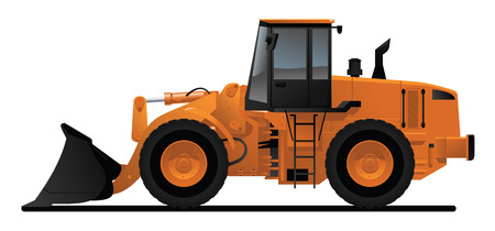 heavy equipment loader Stock Vector - 8316258