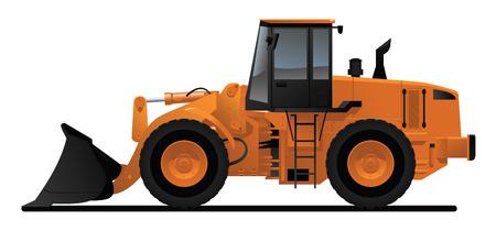 loader: heavy equipment loader
