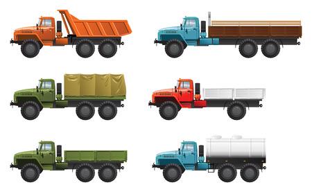 trucks Stock Vector - 8316259
