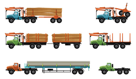 carreta madera: camiones