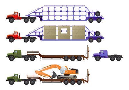 truck tractor Stock Vector - 8383850
