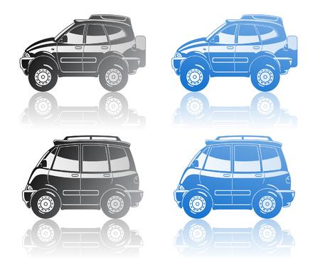 minivan: all-road vehicle and minivan