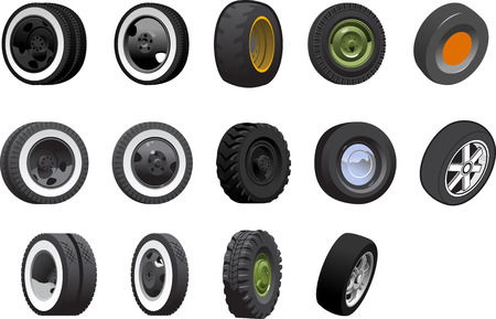 tire cover: wheels