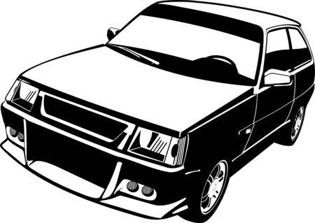 small car: Small car Illustration