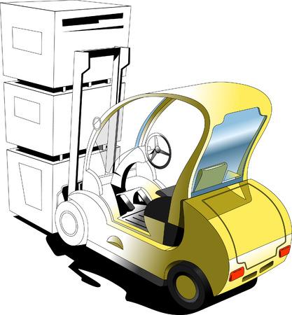 hoisting: Forklift