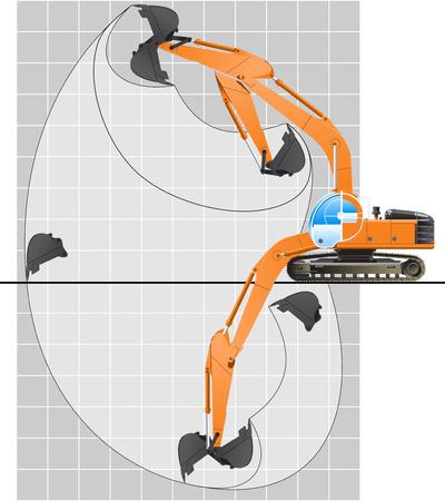 excavator Stock Vector - 8953628