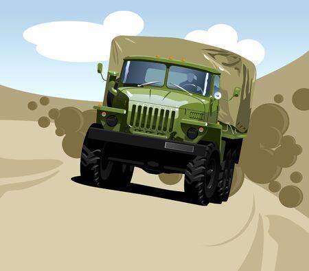 off-highway truck Stock Vector - 9280776