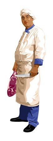 butcher  Vector