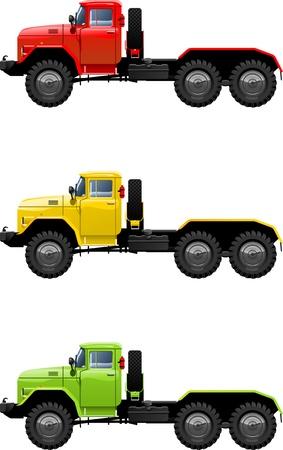 tractor trailer: truck