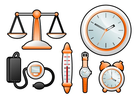 measurement instrumentation Stock Vector - 10035994