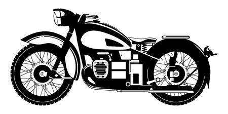 motorcycle.   Stock Vector - 10225866