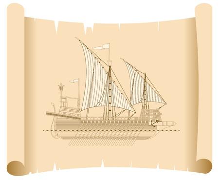 galley: galley Illustration