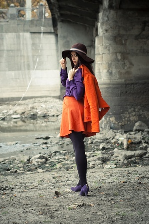 fashion girl photo