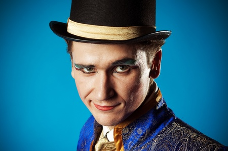 Portrait of the actor Stock Photo - 11800308