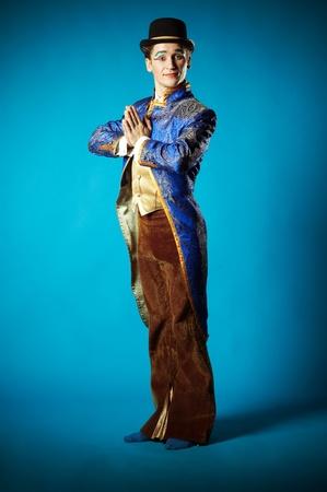 fondo de circo: Retrato del actor