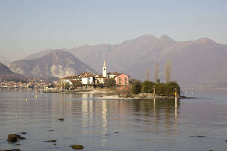 fishermens: Isola dei Pescatori (lit. Fishermen�s Island) and Malghera is an islands of Lago Maggiore in northern Italy.