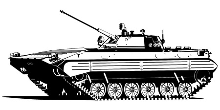 Infantry fighting vehicle Vector