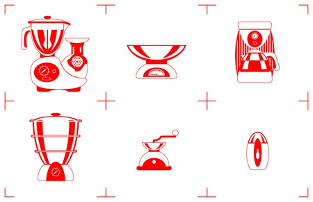 A Vector illustration of the household goods  Vector