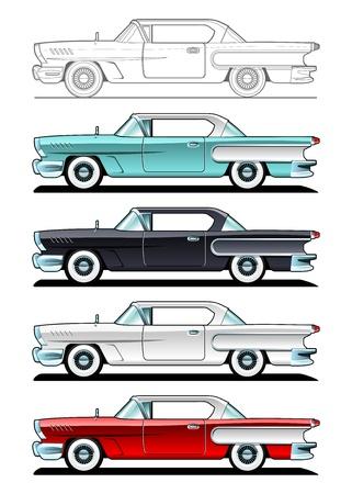 Classic Cars - '60 Archivio Fotografico - 14634936