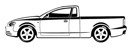 car side view: Pickup