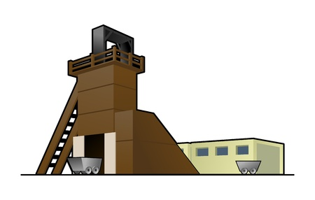 coal mining: mine