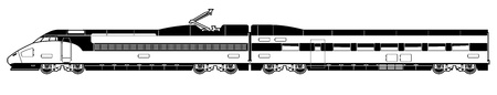 fast train: high-speed train