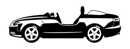 Roadster Stock Vector - 17076818